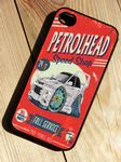 KOOLART PETROLHEAD SPEED SHOP Design For JDM Misubishi Evo 6 Hard Case Cover For iPhone 4 4s